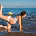 Embarzada y deportista